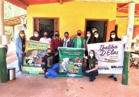 Mulheres rurais iniciam curso dentro do projeto Ibatiba D'Elas