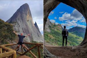 Perfis divulgam montanhas e fazem sucesso nas redes sociais