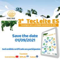 Evento sobre tecnologias para produção sustentável do leite nesta 4ª feira