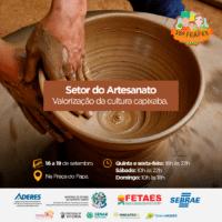 Artesanato capixaba será destaque na Feira da Agricultura  Familiar