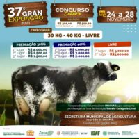 Mimoso do Sul vai realizar Concurso Leiteiro na 37ª Gran Expoagro