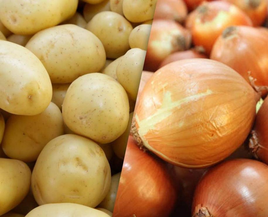 Cebola e batata ficam mais baratas nos principais mercados atacadistas